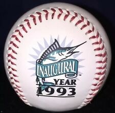 Vtg 1993 Marlins Inaugural Year Limited Edition Sunway Baseball Collectors
