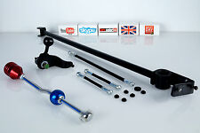 GEAR LINK LINKAGE ROD KIT 6PC PEUGEOT 206 1.1 1.4. 1.6 2.0 LEVER CHANGER BAR NEW