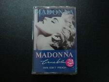 MADONNA [ TRUE BLUE ] CASSETTE THAI EDITION STILL SEALED