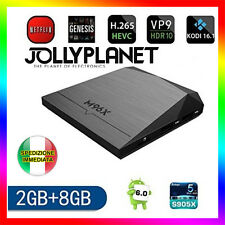 M96X Android 6.0 Marshmallow Quad-Core 2GHz 2GB 8GB KODI TV BOX 4K 60fps IPTV
