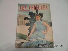LES VEILLEES DES CHAUMIERES N°34 26/06/1954 ROMANS MODE TRICOTS VIE PRATIQUE I96