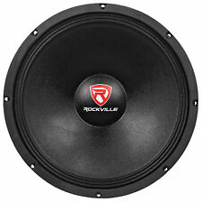 "Rockville RVW1500P4 1500w 15"" Raw DJ Subwoofer 4 Ohm Sub Woofer 70OZ Magnet"