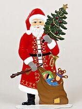 Artist Wilhelm Schweizer German Christmas Pewter Zinnfiguren - Santa Claus 1985