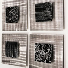 Modern Abstract Metal Wall Art Office Decor Sculpture - Freestyle - Jon Allen
