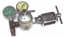 LIF-O-GEN MODEL 1500 GAS PRESSURE REGULATOR, 1-8 LITERS PER MIN OXYGEN GAUGE