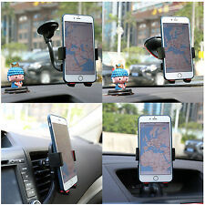 Car Air Vent Mount Cradle Holder Stand for iPhone Samsung Mobile Phone Cell
