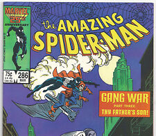 The Amazing Spider-Man #286 HOBGOBLIN & ROSE from Mar. 1987 in VG+ condition DM