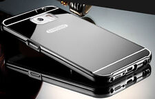 Aluminum Metal Mirror Case + PC Back Cover For Samsung Galaxy S7/Edge/A5100/Note