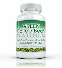 Green Coffee Bean Platinum C / GCA mejor Pure Extracto de pérdida de peso Fat Burner 800mg