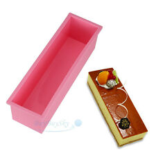 1.2L L Rectangle Brick Soap Pastry Toast Bread Loaf Cake Silicone Mold Bakeware