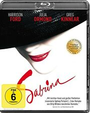 SABRINA (HARRISON FORD, JULIA ORMOND, JOHN WOOD,...)  BLU-RAY NEU