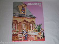 RARE 1990 Greek PLAYMOBIL VICTORIAN CATALOG - PINK ROSE SERIE ! Mint Condition!