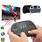 2.4GHz Rii mini i8 2 Color Wireless Keyboard Mouse with Touchpad for smart TV PC