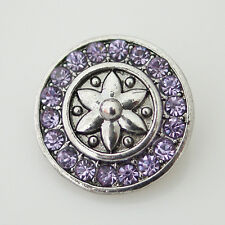 Snap It Button Chunk Charm Fits Interchangeable Snap Style Jewelry
