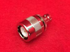 BNC Female to C Male Ludlum UG-636A Coaxial connector adapter Collins R-390A