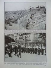 1917 KING ALFONSO OF SPAIN, SPANISH ARMY QUEEN'S LANCERS MARINES WWI WW1