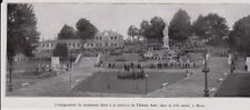1930  --  INAUGURATION DU MONUMENT A CLEMENT ADER A MURET   3I271