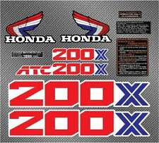 1986 86' ATC 200x 10pc Vintage ATV Sticker Decals Graphics Kit