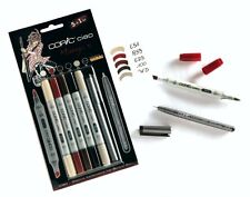 Copic Ciao marcador - 6 Pen Set-Manga 5 Set-Twin Con Punta