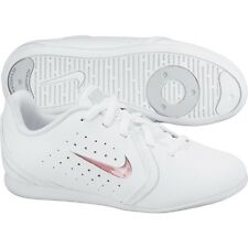 Nike Girls White Sneakers &Interchanging Inserts Cheerleading Sneakers SZ 10