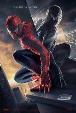 SPIDER-MAN 3 (2007) ORIGINAL ADVANCE MOVIE POSTER  -  ROLLED
