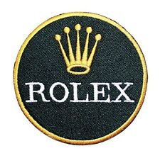 Rolex Swiss  Watch F1 Motor Sports Racing Golf Embroidered Jacket Iron on Patch