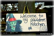 *** Welcome to my kitchen - Türschild 21 x 10 cm ***