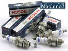 VW Beetle Ignition System Spark Plug Set W8AC T1 Bug Engine 1200-1600cc BOSCH x4