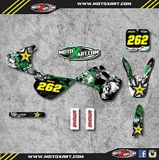 Full Custom Graphic Kit Kawasaki KX 80 - 1992 stickers / decals GRAFFITI STYLE