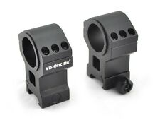 Visionking rifle scope rings 25.4mm 30mm mount 6061 for .223 .308 .50 High body