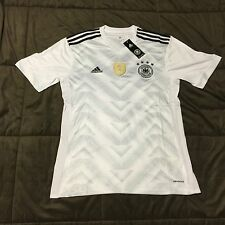 Men's 2017 Germany Adidas Home Jersey, Large ,NWT