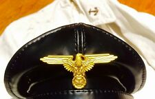 All horsehide cowhide leather tailer made Panzer cap limited edition free size