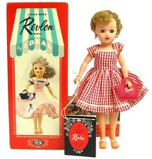 Vintage Ideal Little Miss Revlon Pony Tail Red Doll Unused Mint w/Box & Hang Tag