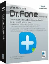 Wondershare Dr.Fone Android MAC ( Datenrettung) lifetime Vollversion Download