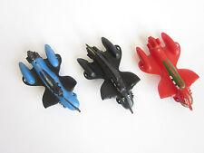 Vtg 1950s GILMARK Rocket Jet Car Flash Gordon Space Ship hard Plastic toy lot