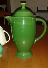 Vintage Fiesta Forest Green Tall Coffee Pot 50's Color VHTF in this Glaze Minty!