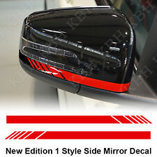Mirror Stripe Decal Sticker for Mercedes Benz X156 X204 W221 W246 Edition 1 AMG