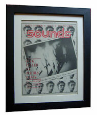 SEX PISTOLS+Sounds 1977 Jubilee+POSTER+AD+PUNK+FRAMED+ORIGINAL+FAST GLOBAL SHIP