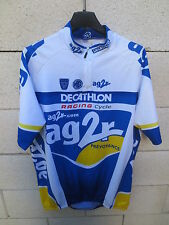 Maillot cycliste AG2R DECATHLON RACING CYCLE Tour France 2004 cycling shirt XXL