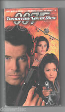 Tomorrow Never Dies VHS James Bond Pierce Brosnan Teri Hatcher Joe Don Baker
