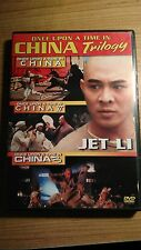 Once Upon a Time in China 1, 2 & 3 (DVD, 2003, 2-Disc Set) Jet Li / MARTIAL ARTS