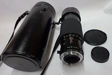 Tokina 100-300mm 1:4 AT-X SD Manual Zoom Lens Nikon Mount w/Case  FREE SHIPPING!