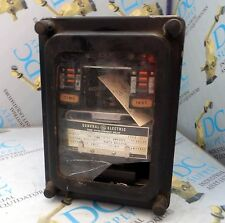 GENERAL ELECTRIC 12IAC77B4A TYPE IAC TIME UNDERCURRENT RELAY BROKEN #6