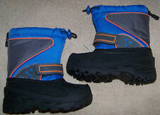 NWT Circo Blue Thermolite Insulated Winter Snow Boots Size 9/10 Faux Fur Insole
