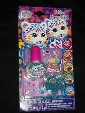 Lisa Frank Glitter Tattoo Stencil Kit Temporary Glue