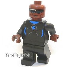 M017A Lego Minifigure Power Man with Blue Wetsuit Outfit Torso 76016 10244  NEW
