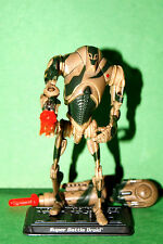 STAR WARS SAGA KASHYYYK SUPER BATTLE DROID LOOSE COMPLETE
