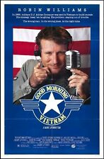 GOOD MORNING VIETNAM - 1987 - Original 27x41 MOVIE POSTER - ROBIN WILLIAMS