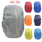 45-70L Waterproof Dust Rain Travel Hiking Backpack Camping Rucksack Bag Cover