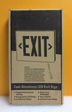 Hubbell / Dual Lite Sempra SESRWE-24K Cast Aluminum LED Exit Sign, New-Unused